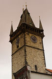 Prague orloy tower Royalty Free Stock Photography