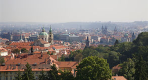 Prague - outlook Stock Photo