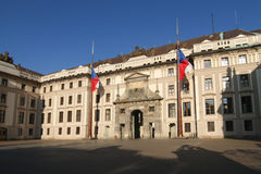 Prague Palace Entrance Gate Royalty Free Stock Photos
