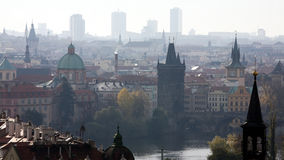 Prague panorama Royalty Free Stock Photos