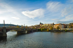 Prague Panorama Stock Images