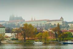 Prague Panorama Royalty Free Stock Photos