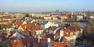 Prague - panorama Photos stock