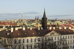 Prague panorama Stock Photography