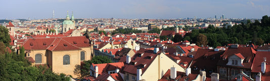 Prague Panorama Royalty Free Stock Images