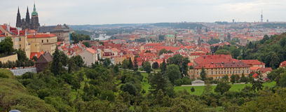 Prague panorama. Stock Image