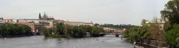 Prague panorama Royalty Free Stock Photo