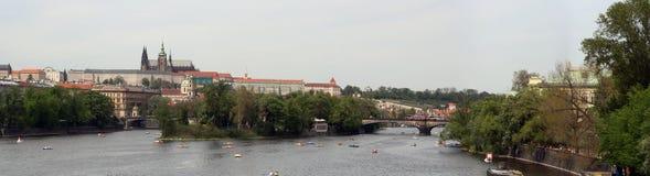 Prague panorama Royalty Free Stock Photo