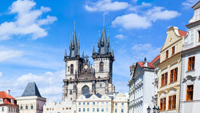 Prague panorama Royalty Free Stock Image