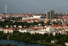 Free Prague Panorama Royalty Free Stock Photos - 8429548