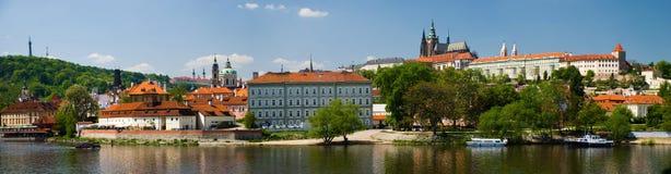 Prague panorama Stock Photos