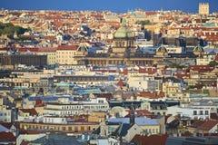 Prague. Panorama of city Royalty Free Stock Photos
