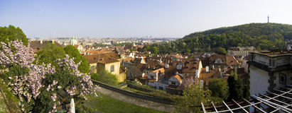 Prague Panorama - Czech Republic Royalty Free Stock Photos