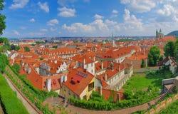 Prague panorama. Panorama of Prague in Czech Republic Stock Images