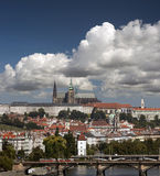Prague - Panorama with Hradcany Royalty Free Stock Image
