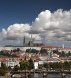 Prague - Panorama with Hradcany Royalty Free Stock Image