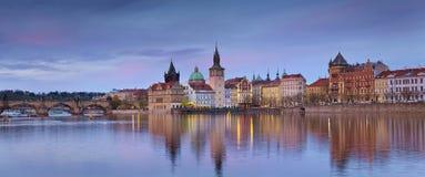 Prague Panorama. Royalty Free Stock Photos