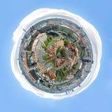 Prague panorama planet. Picture of Prague panorama planet stock photos