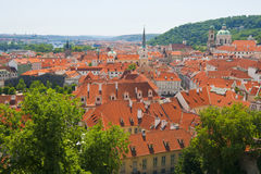 Prague panorama Royalty Free Stock Images