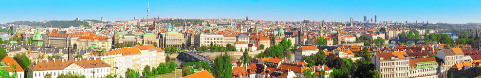 Prague Panorama view , Prague Royalty Free Stock Image
