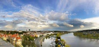 Prague Panoramic, Czech republic Stock Image