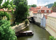 Prague Panorana Royalty Free Stock Photography