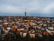Prague - part Zizkov Royalty Free Stock Photography
