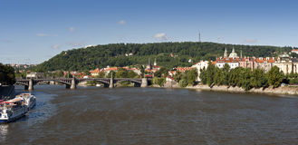 Prague - Petrin Hill, Royalty Free Stock Photography