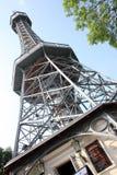 Prague - Petrin tower Stock Photos