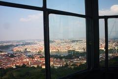 Prague - Petrin tower Stock Photo