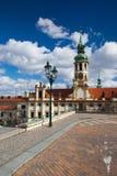 Prague pilgrim place Loreta Royalty Free Stock Photography