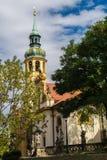 Prague pilgrim place Loreta Stock Photos