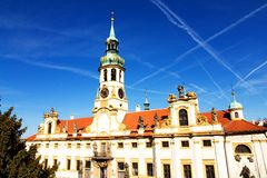 Prague pilgrim place loreta Stock Photo