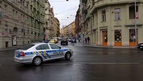 Prague police Stock Photography