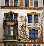 Prague - Popular Travel Destination - Old Town Square Royalty Free Stock Photography