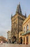 Prague Powder tower Royalty Free Stock Image