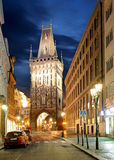 Prague - Powder tower Royalty Free Stock Photos