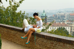 Prague. Prague Castle. Stock Photo