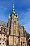 Prague Praha / Castle. Church Castle in center of Praha Stock Images