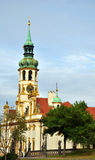 Prague Praha / Loreto Church. Loreto Church in center of Praha Stock Photo