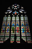 Prague Praha / Stained-glass on Castle Royalty Free Stock Photos