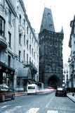 Prague - Prasna tower Stock Photography