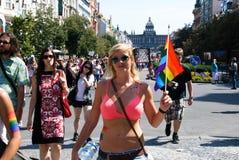 Prague Pride 2012 Stock Photo