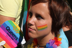 Prague Pride Gay Festival stock photos