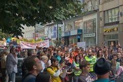 Prague Pride Parade 2011 Stock Photo