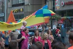 Prague Pride Parade 2011 Stock Photography
