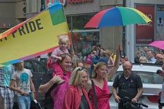 Prague Pride Parade 2011 Royalty Free Stock Photography