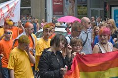 Prague Pride Parade 2011 Stock Photos