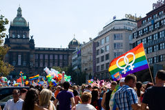 Prague Pride Parade Royalty Free Stock Photography