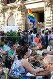 Prague Pride Parade Stock Image